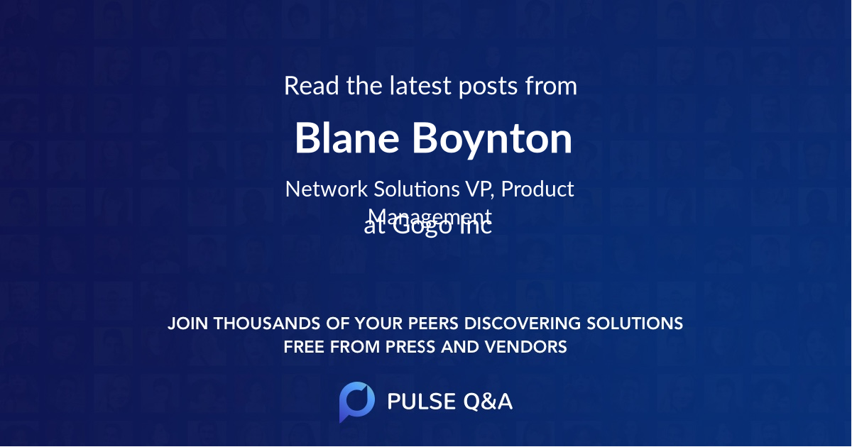 Blane Boynton