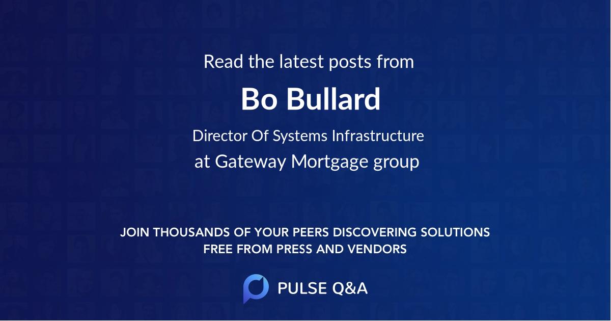 Bo Bullard