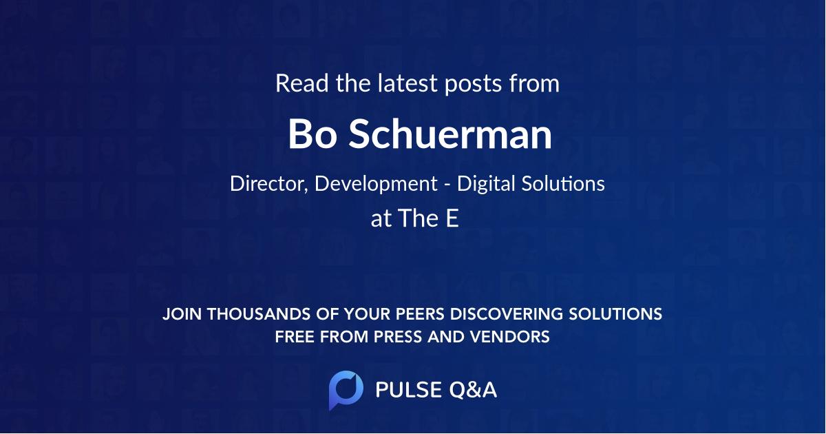 Bo Schuerman