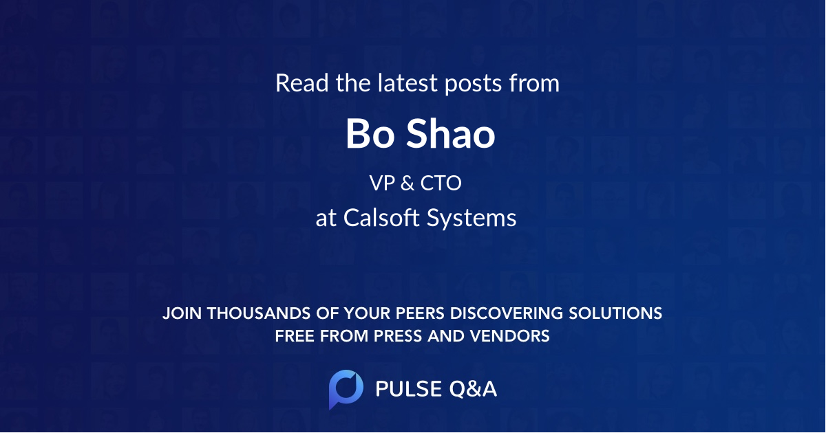 Bo Shao