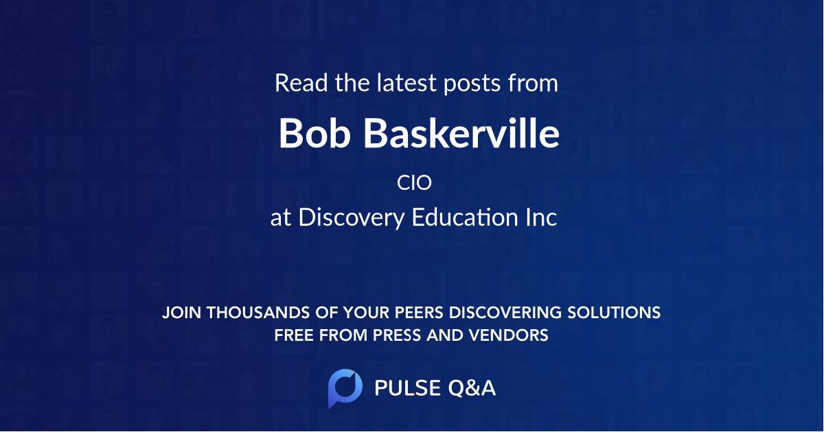 Bob Baskerville