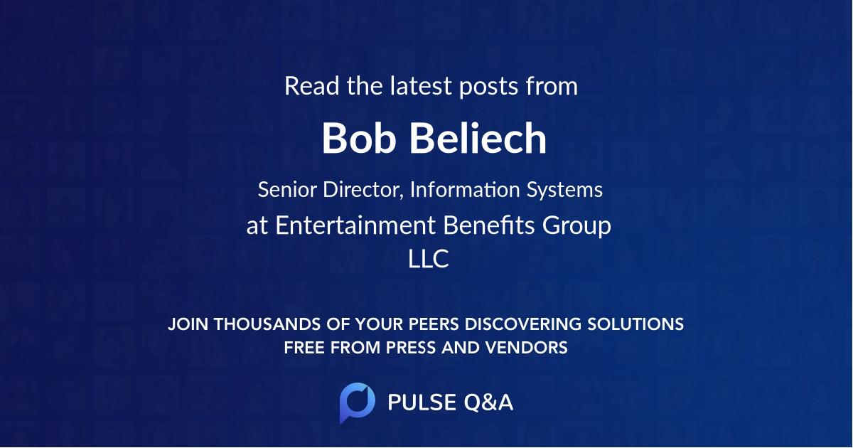 Bob Beliech