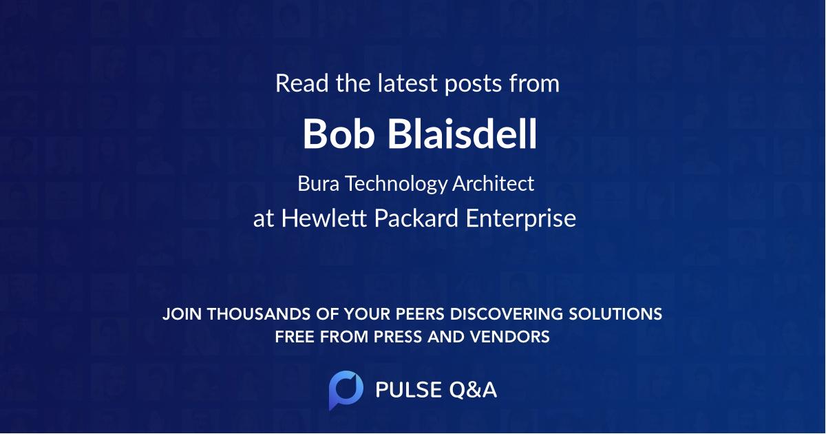 Bob Blaisdell