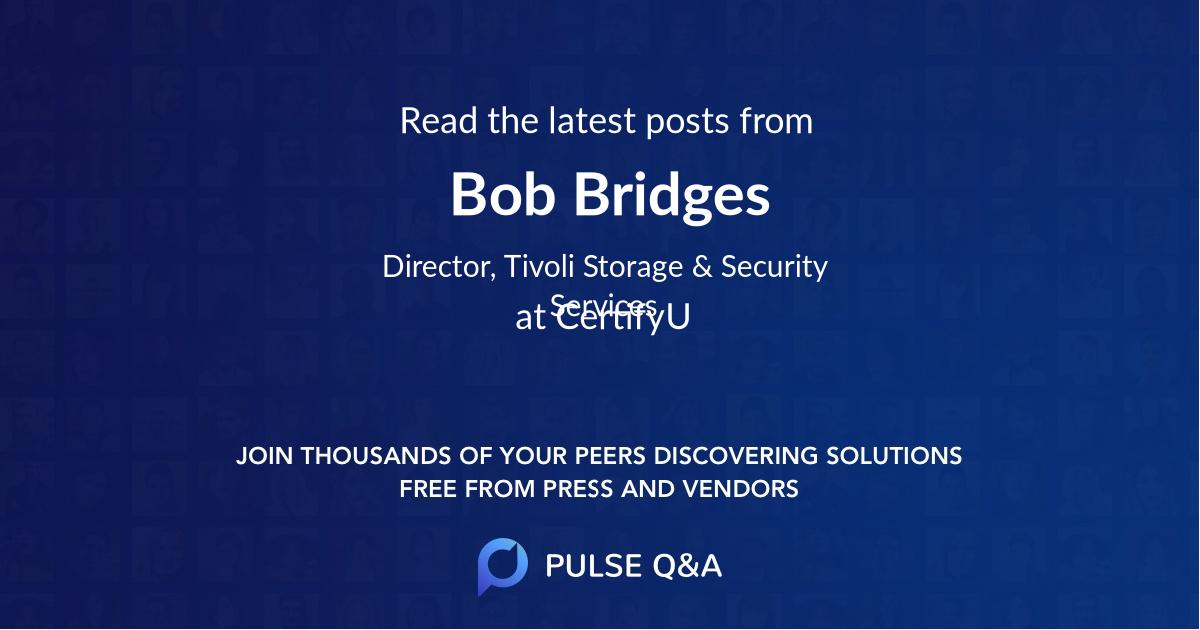 Bob Bridges