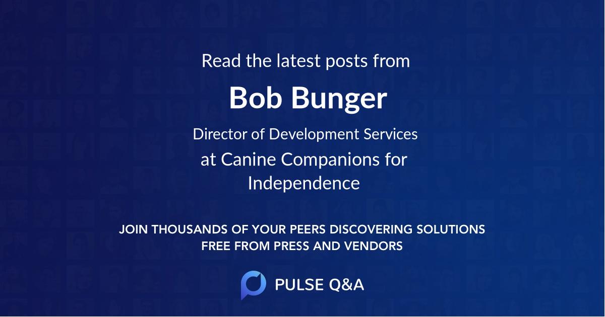 Bob Bunger