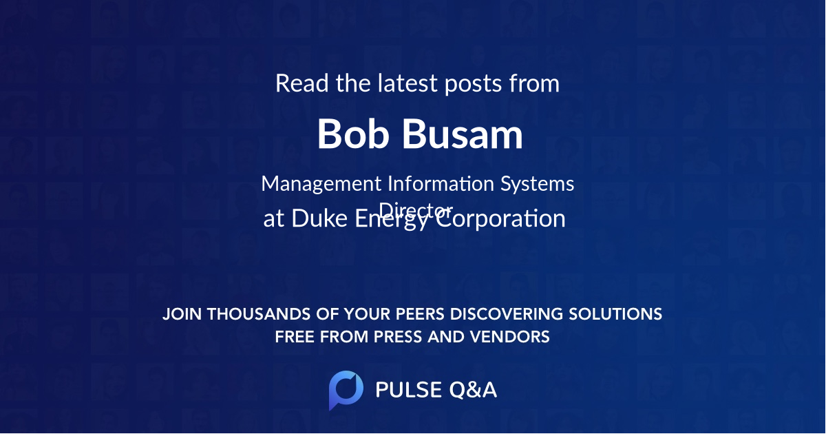 Bob Busam