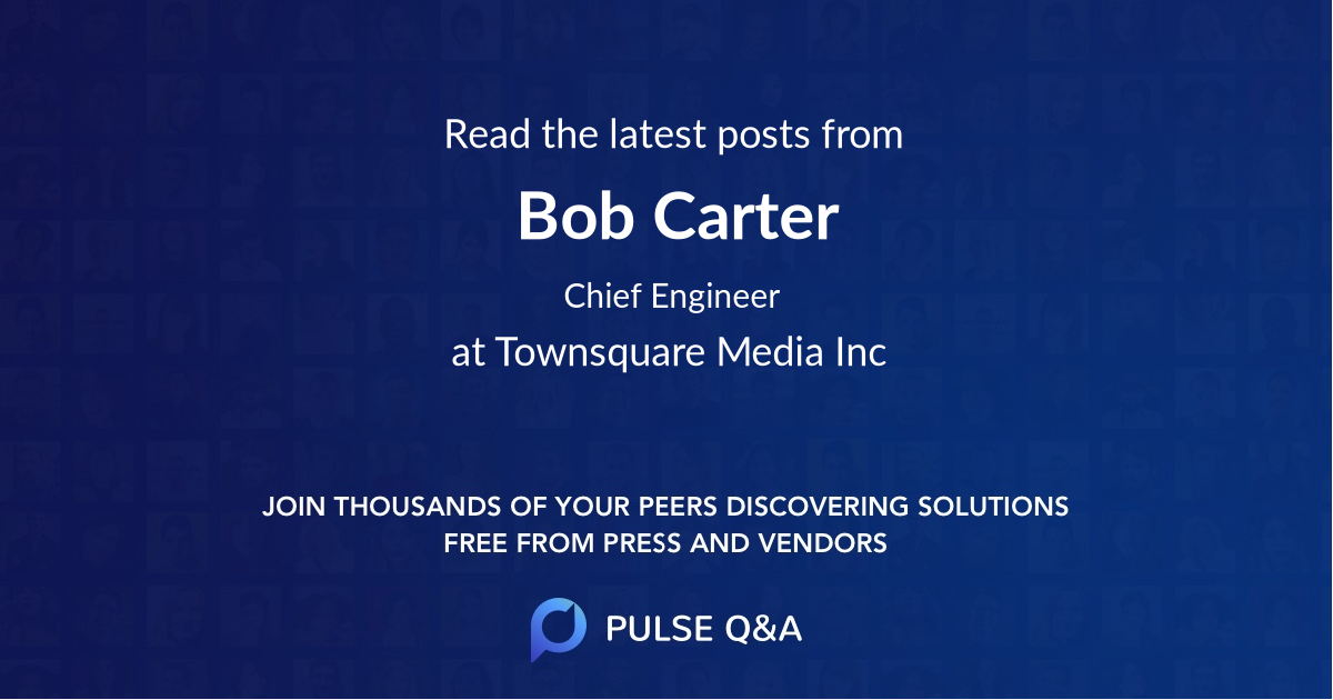 Bob Carter