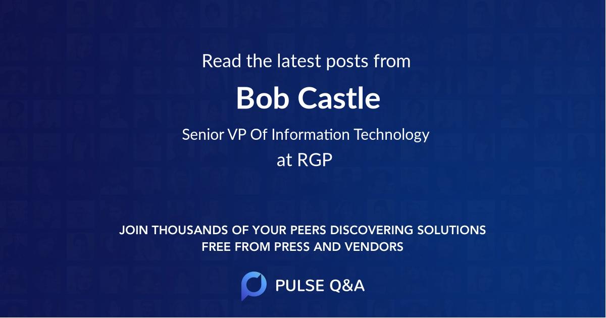 Bob Castle