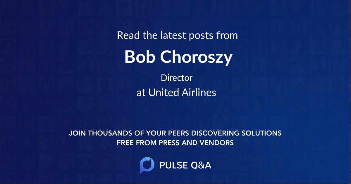 Bob Choroszy