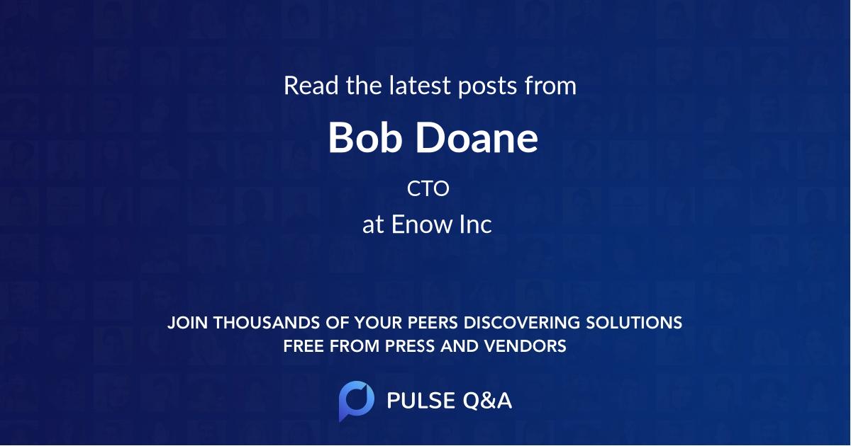 Bob Doane