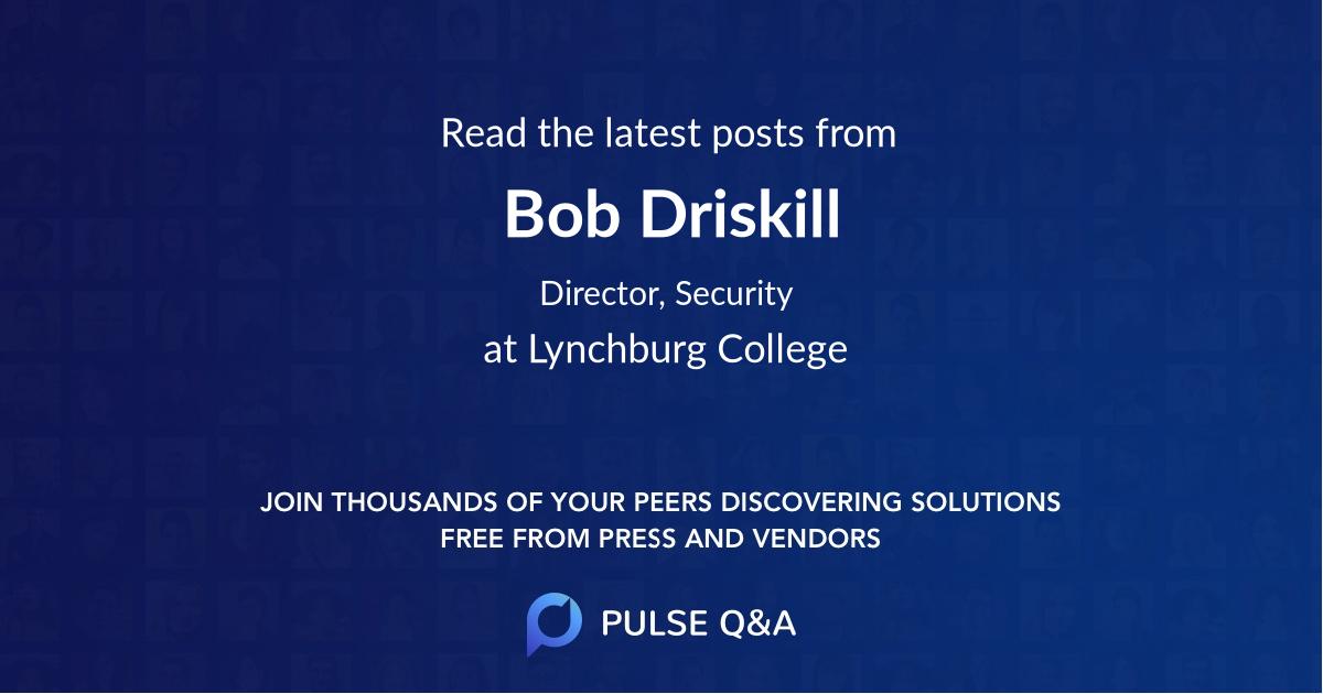 Bob Driskill