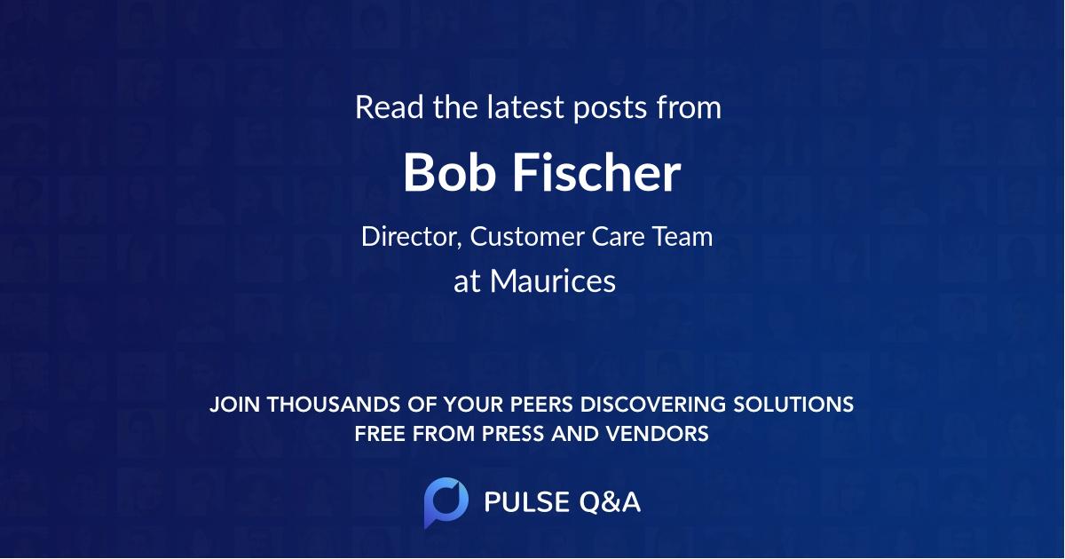 Bob Fischer