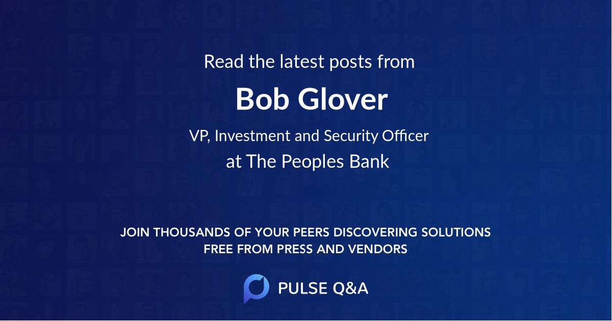 Bob Glover