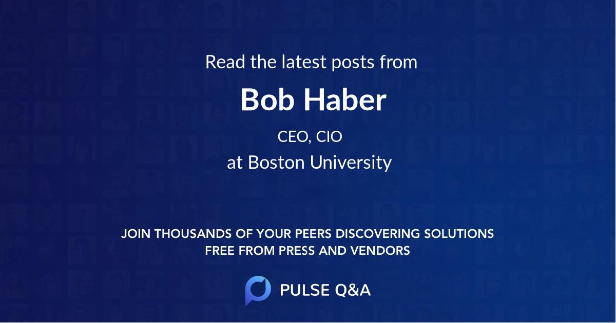 Bob Haber