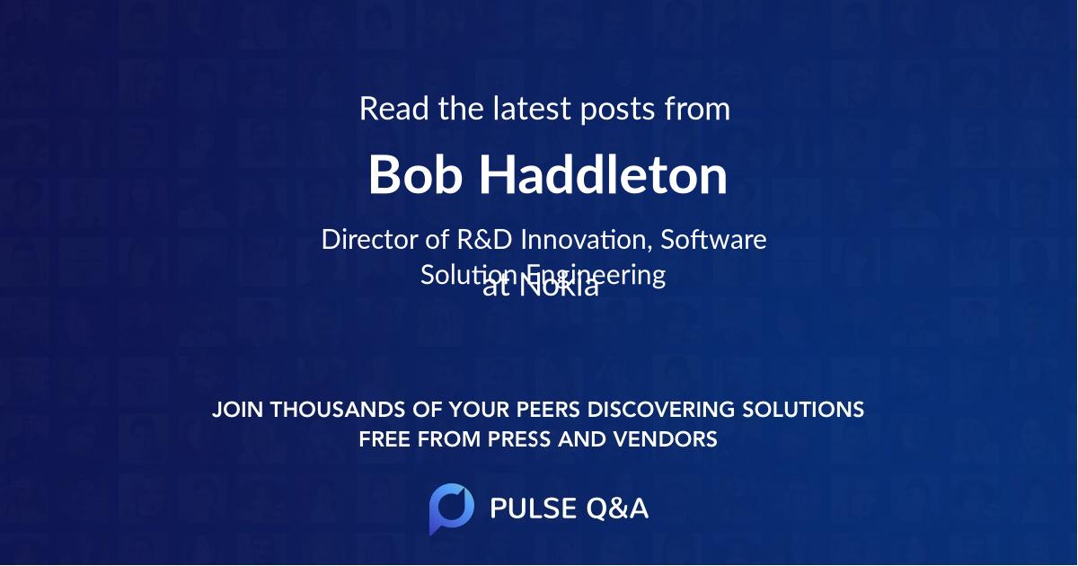 Bob Haddleton