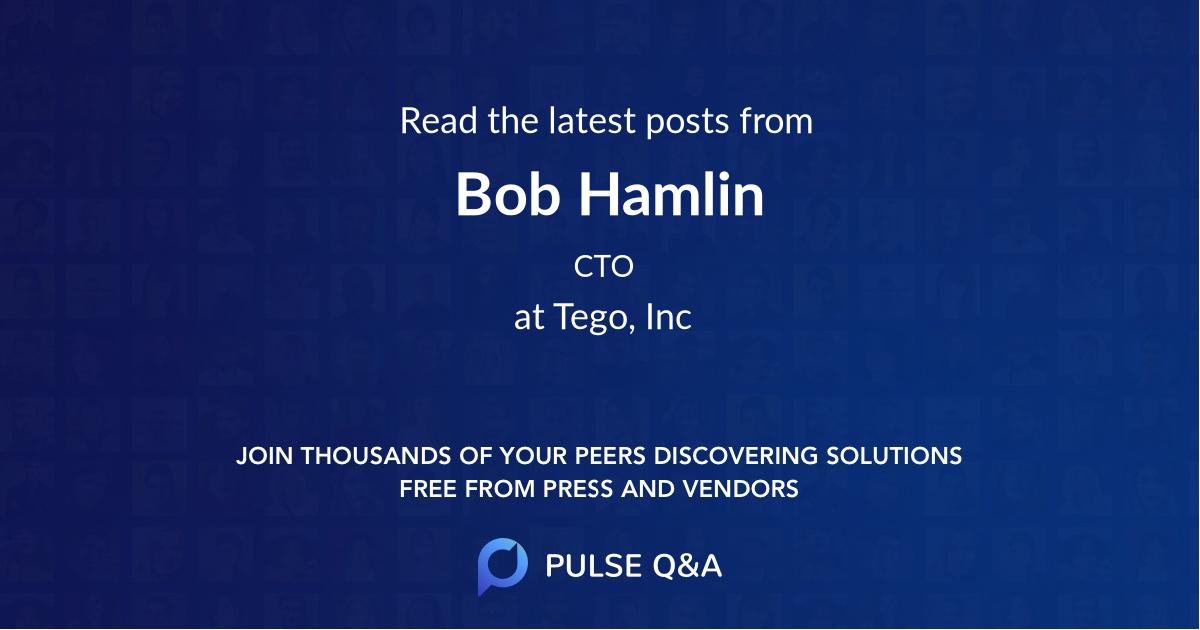 Bob Hamlin