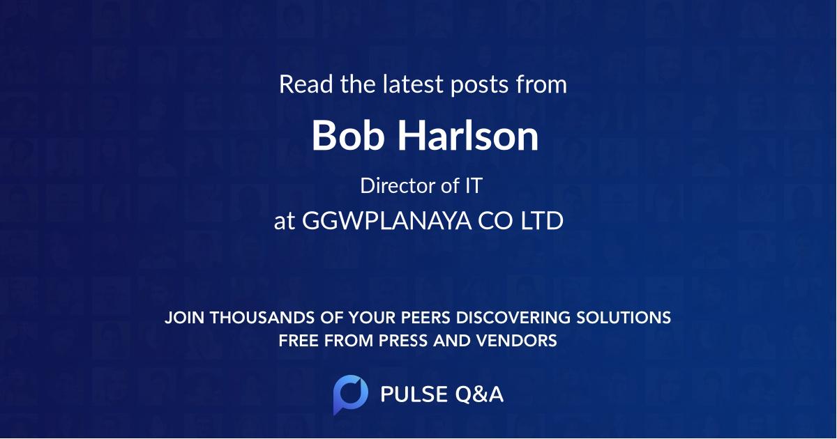 Bob Harlson