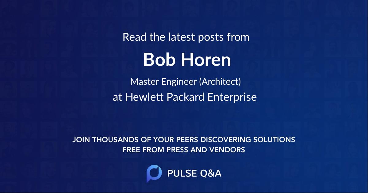 Bob Horen