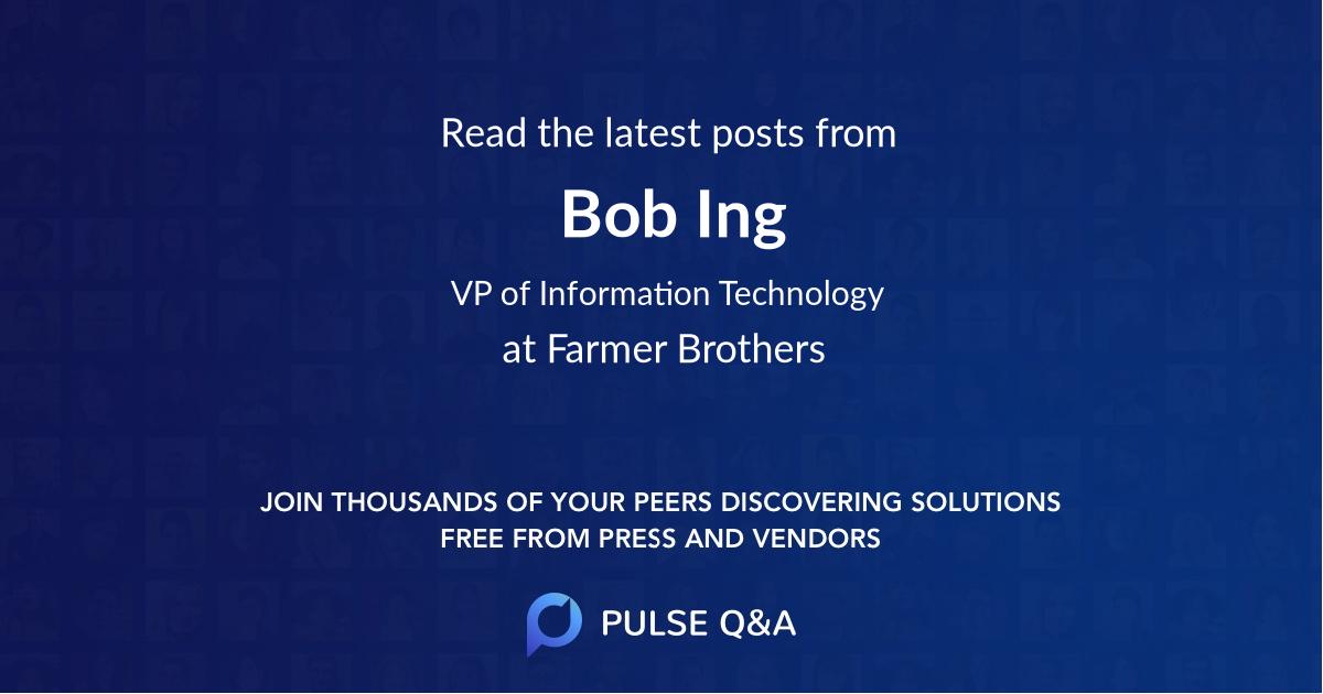 Bob Ing
