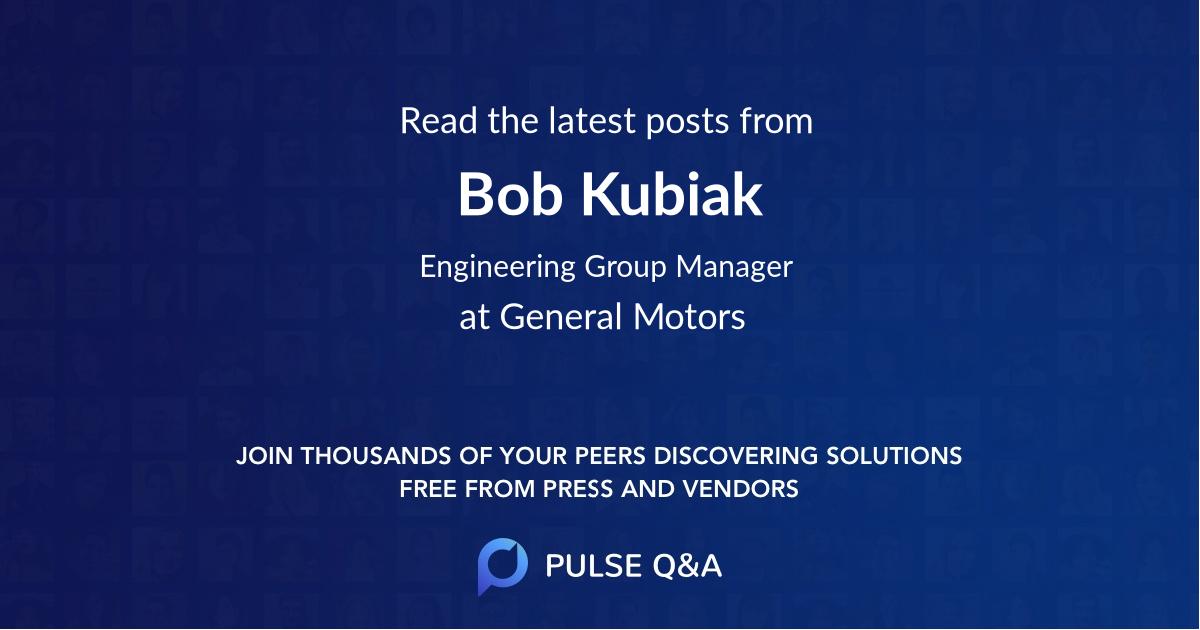 Bob Kubiak