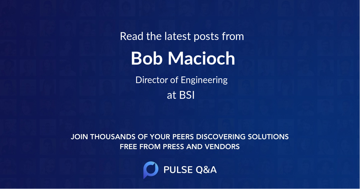 Bob Macioch