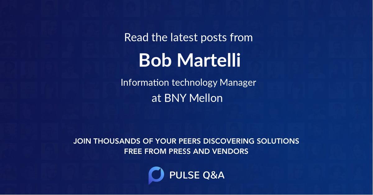 Bob Martelli