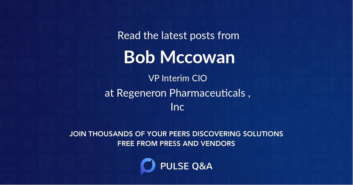 Bob Mccowan