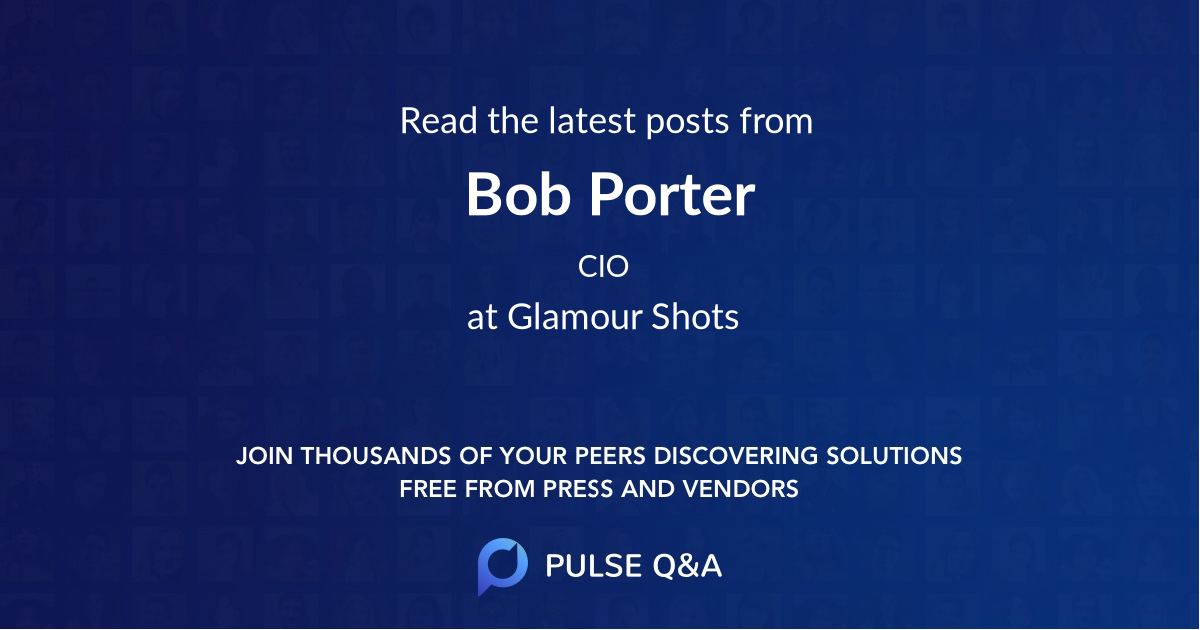 Bob Porter