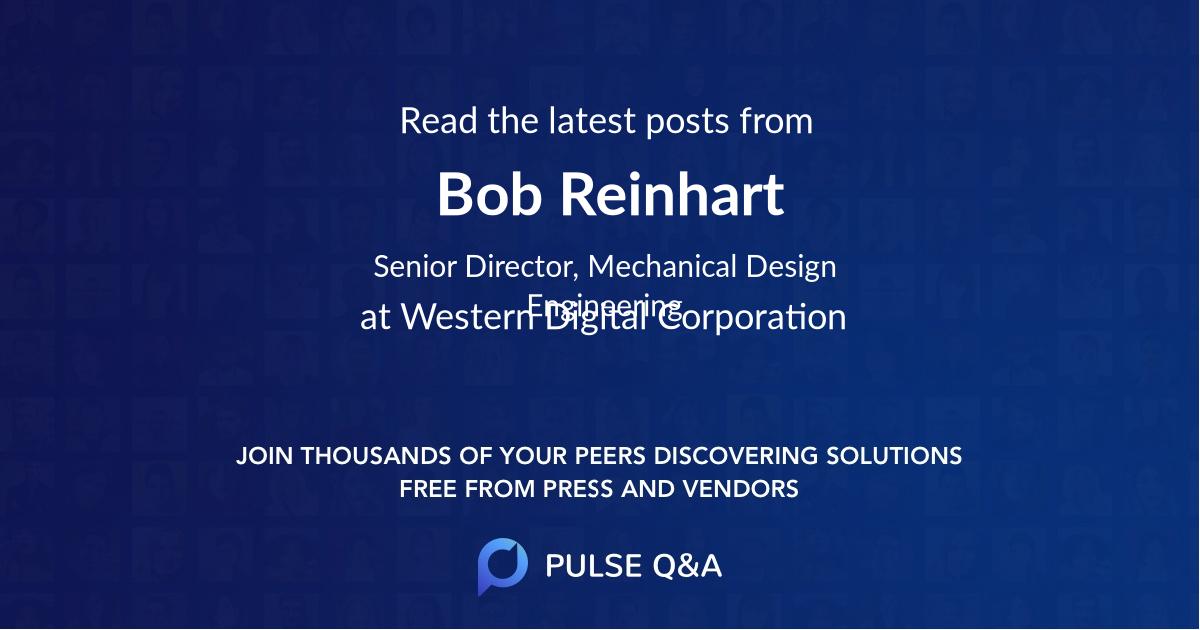 Bob Reinhart