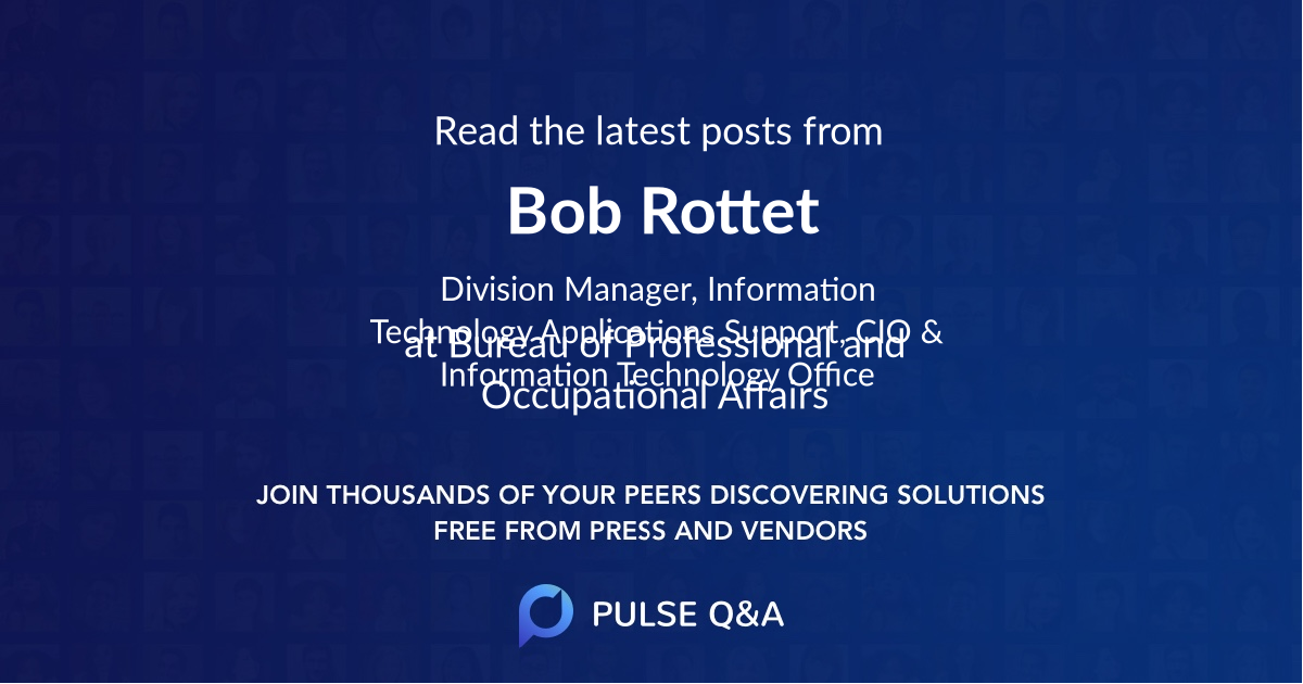 Bob Rottet