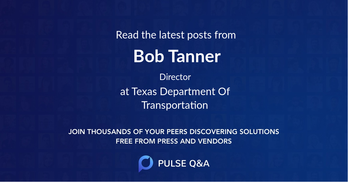 Bob Tanner