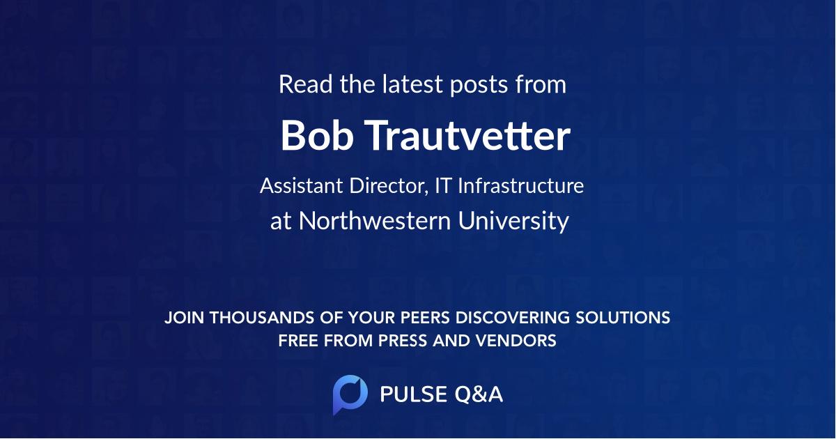 Bob Trautvetter