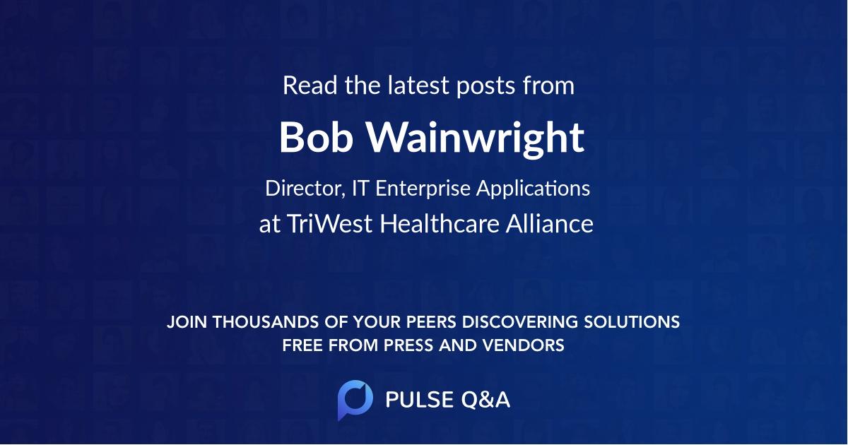 Bob Wainwright