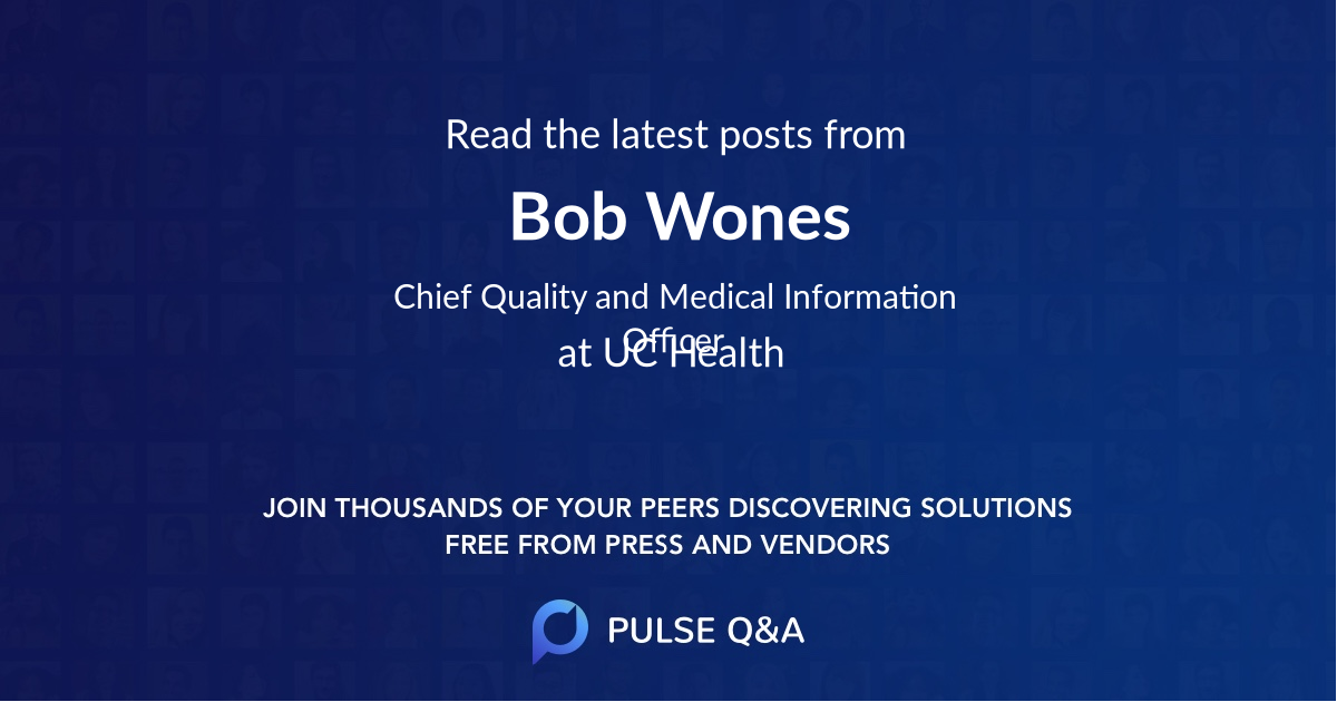 Bob Wones