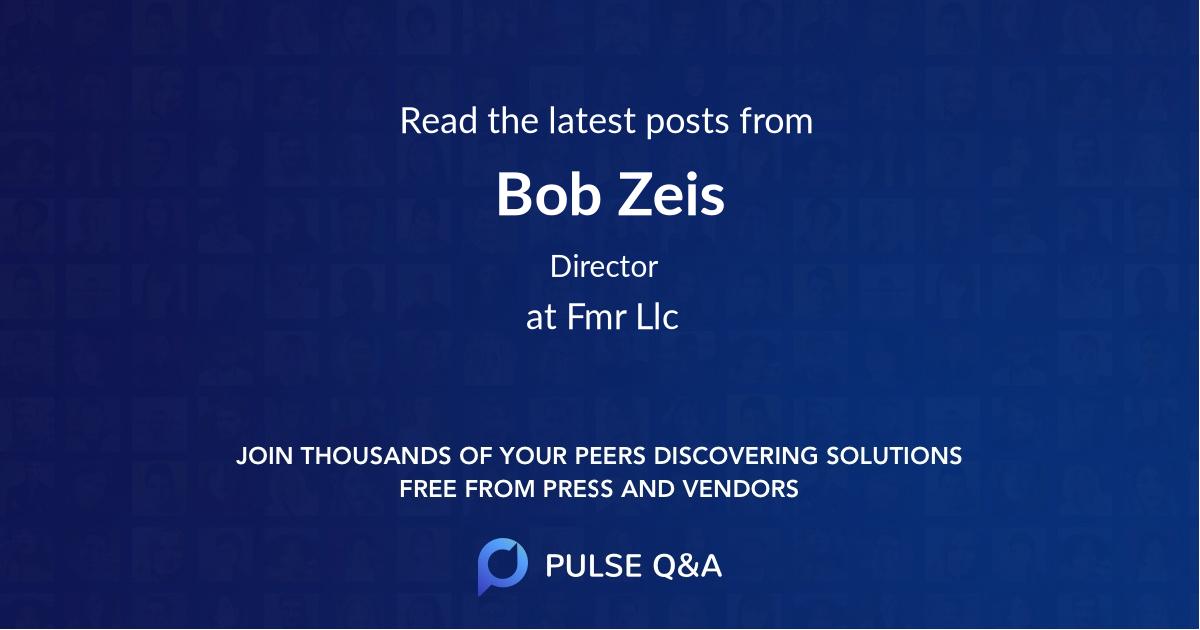 Bob Zeis