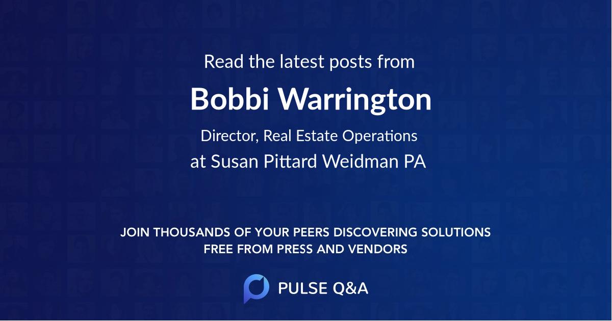 Bobbi Warrington