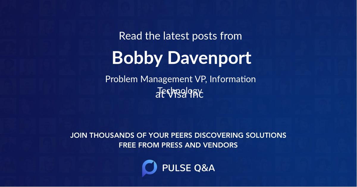 Bobby Davenport