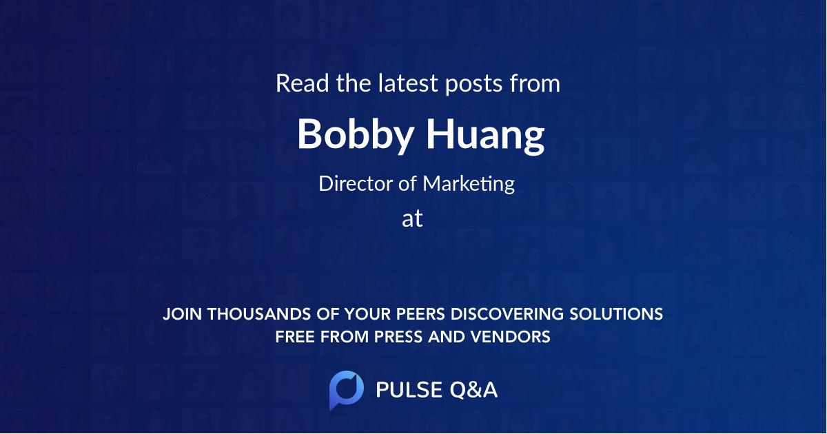 Bobby Huang