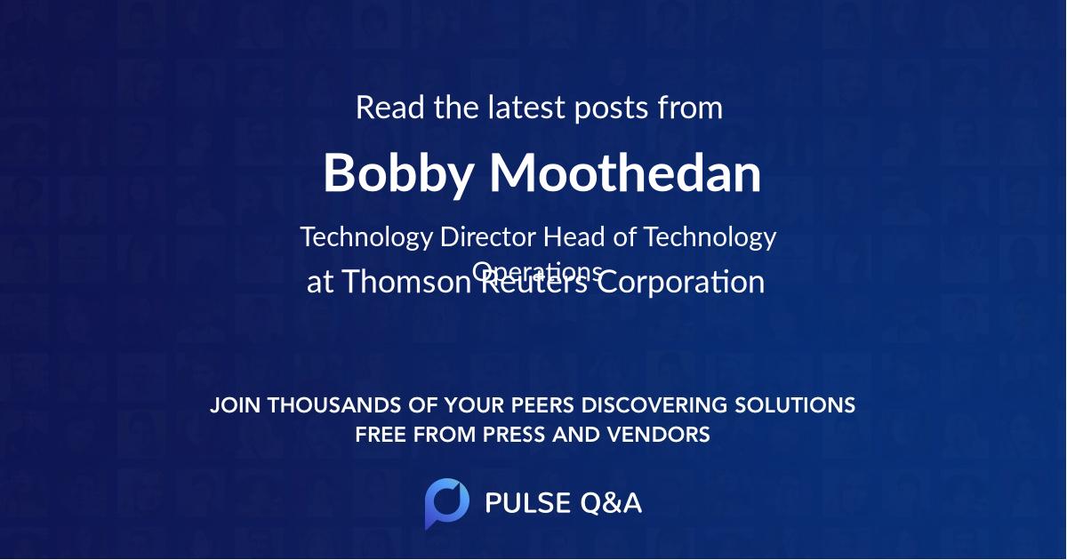 Bobby Moothedan