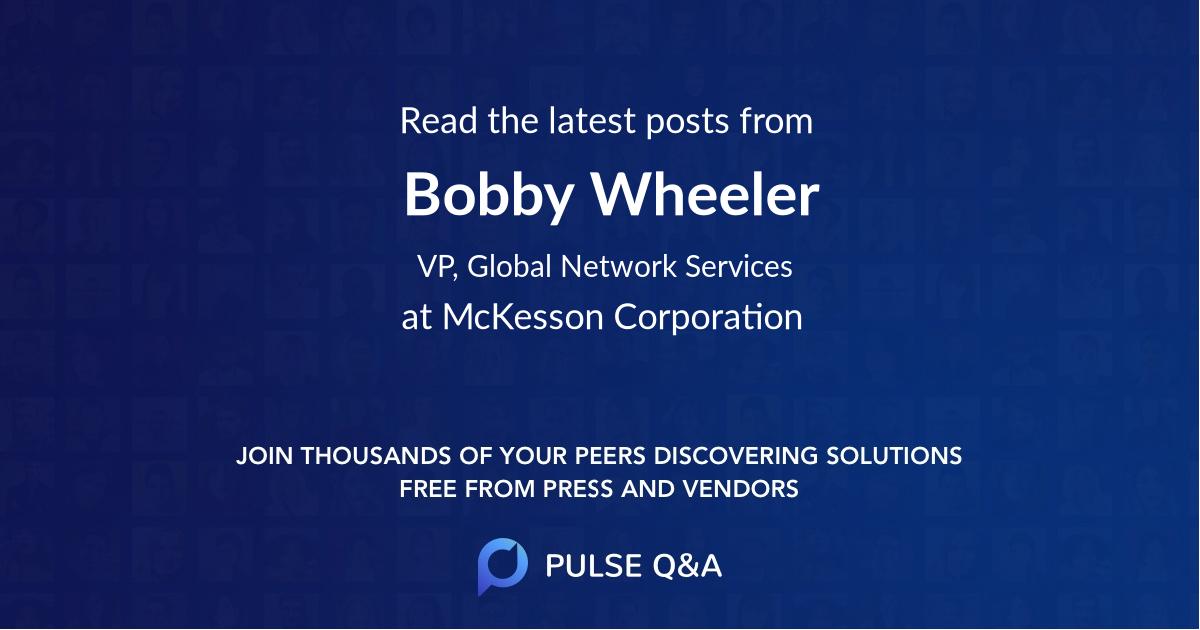 Bobby Wheeler