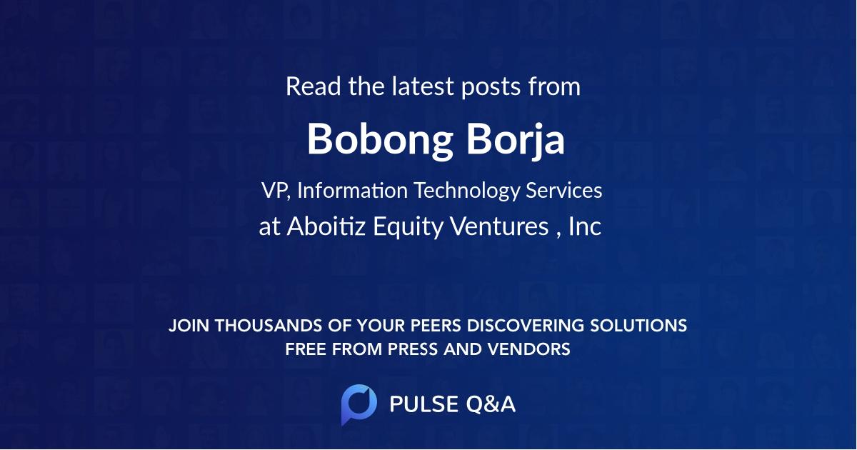 Bobong Borja