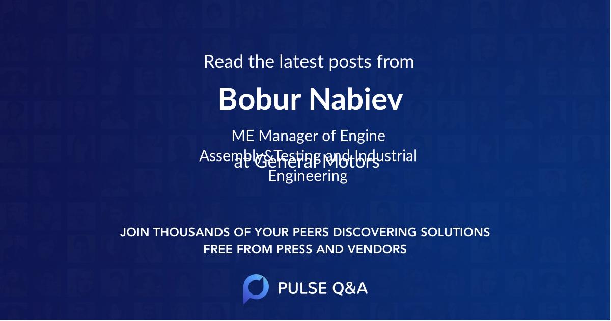 Bobur Nabiev