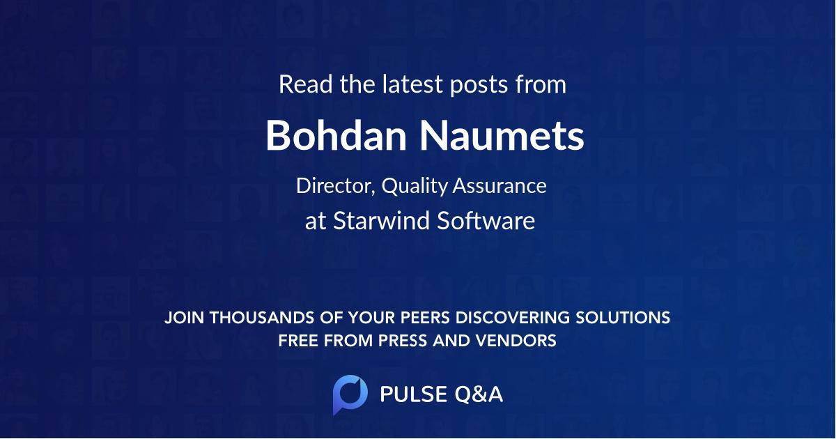 Bohdan Naumets