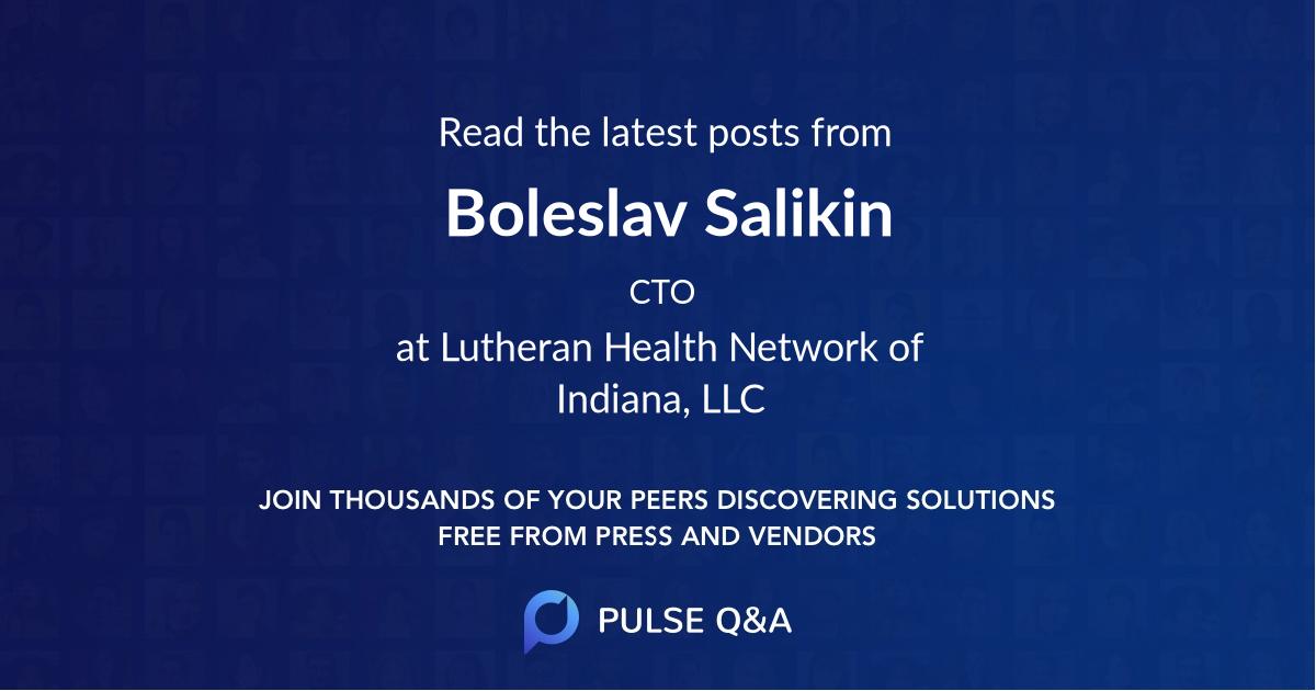 Boleslav Salikin