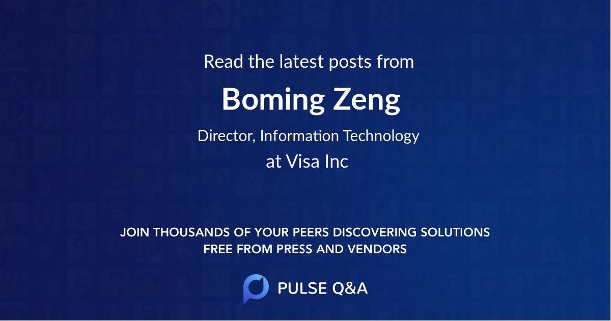Boming Zeng