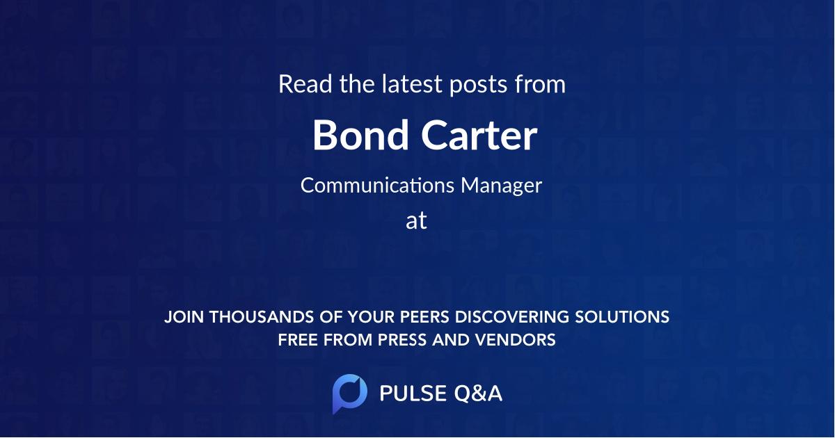 Bond Carter