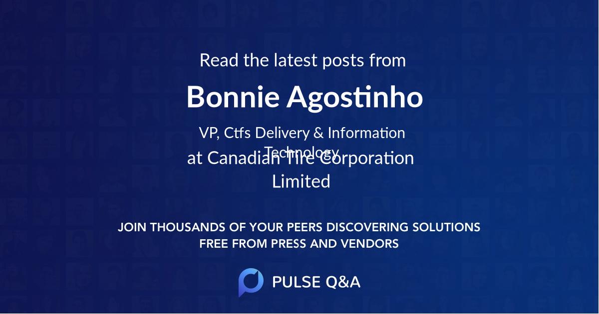 Bonnie Agostinho