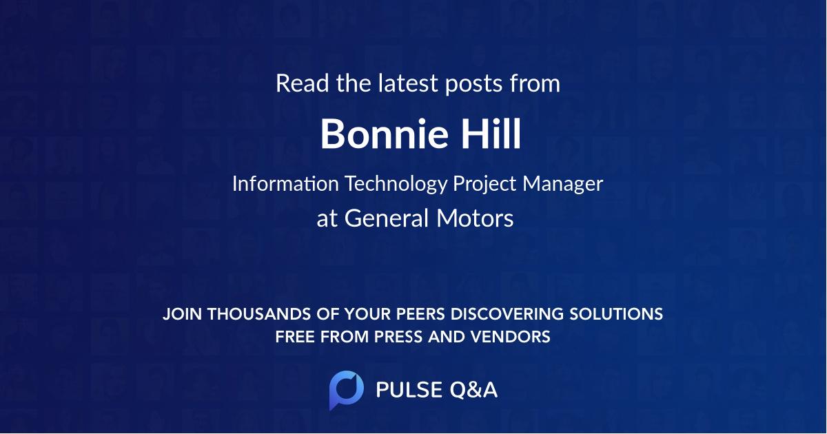 Bonnie Hill