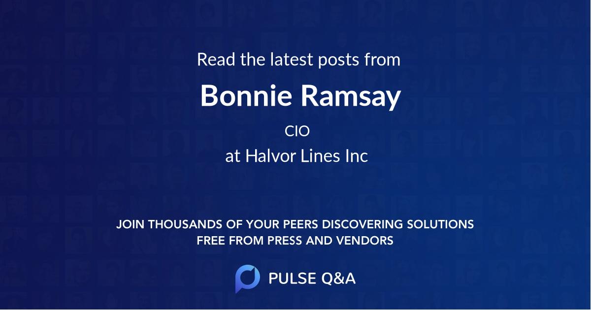 Bonnie Ramsay