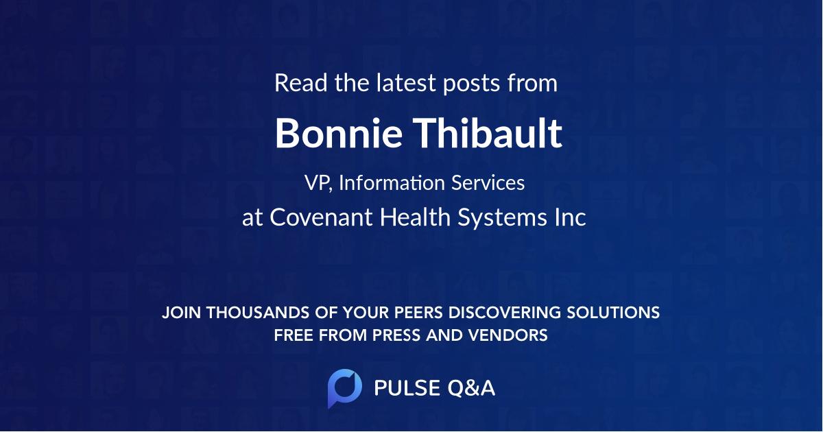 Bonnie Thibault